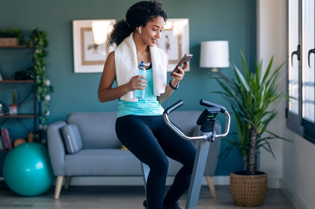 Work from home Peloton